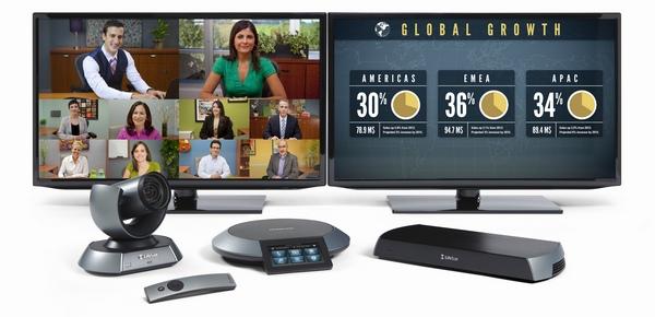 icon 600 dual monitor videokonferenzsystem